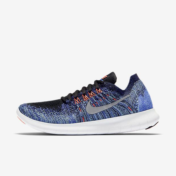 Nike Free RN Flyknit 2017 Women's Running Shoe. Available Colors: Black /Anthracite/