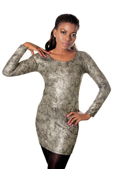 Perfect dress for New Years party! There can never be too much glitter!
