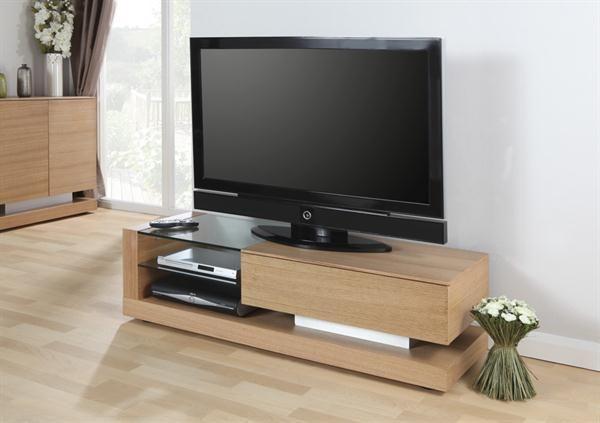 Jual Jf613 130cm Tv Stand Entertainment Unit Media Unit In Oak