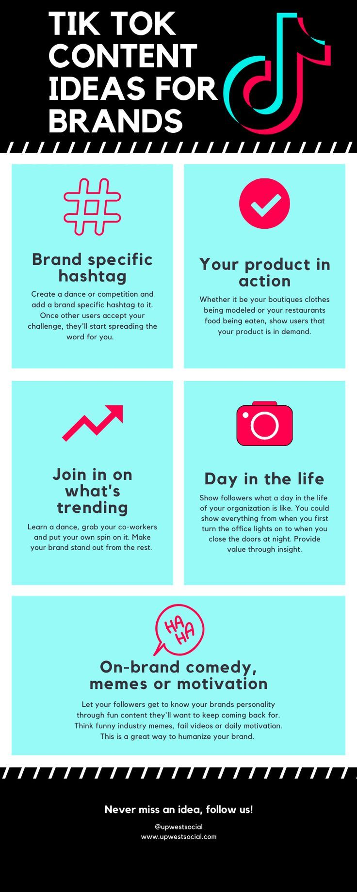 Tik Tok Trending Ideas Small Business Brand How To Use Hashtags Small Business Social Media Small Business Branding