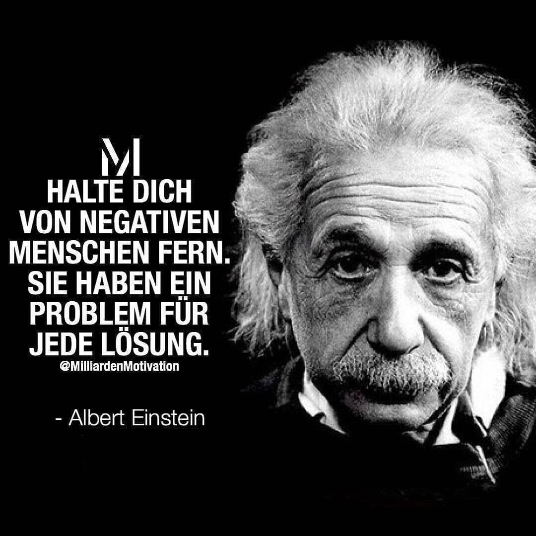 Milliarden Motivation On Instagram Klar Gebe Menschen Die Chance Sich Zu Bessern Doch Irgen Schlaue Zitate Inspirierende Zitate Und Spruche Einstein Zitate