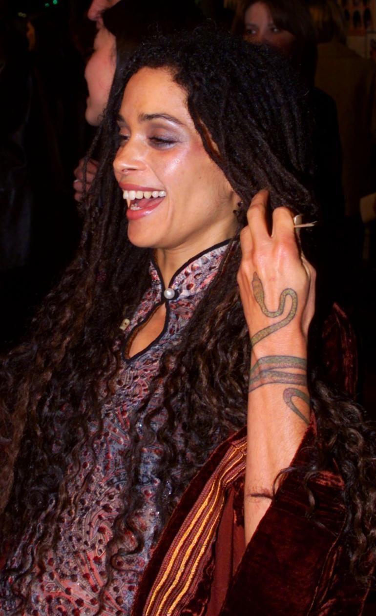Lisa Bonet tatuajes