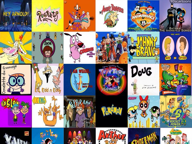 90's cartoons 90s cartoons, Old cartoons 90s, 90s kids