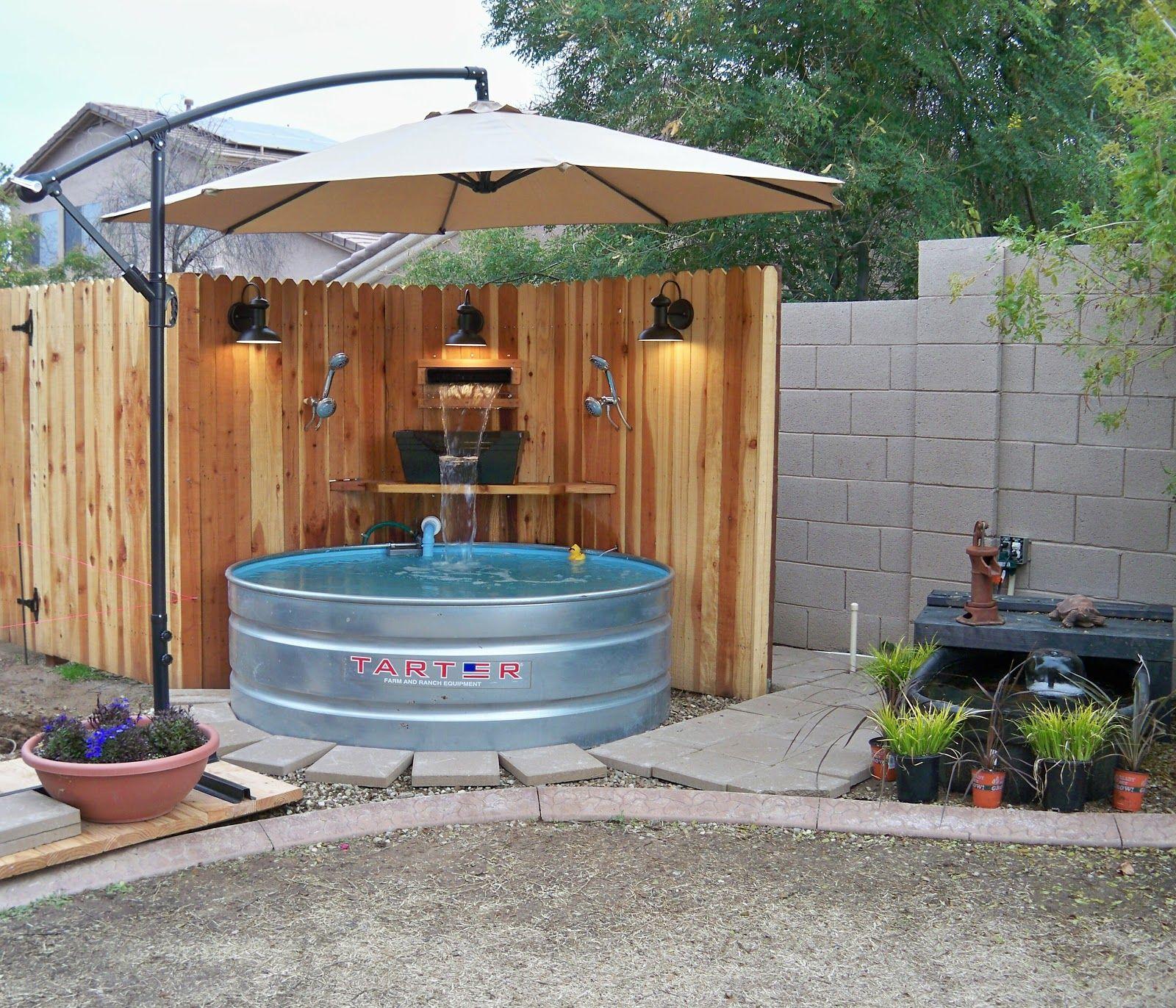 Backyard Progress - The Pool Is Finished