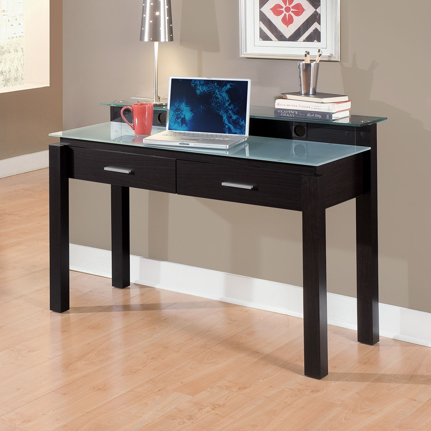 Full Form. Our Crescent Desk Is Just The Thing To Complete