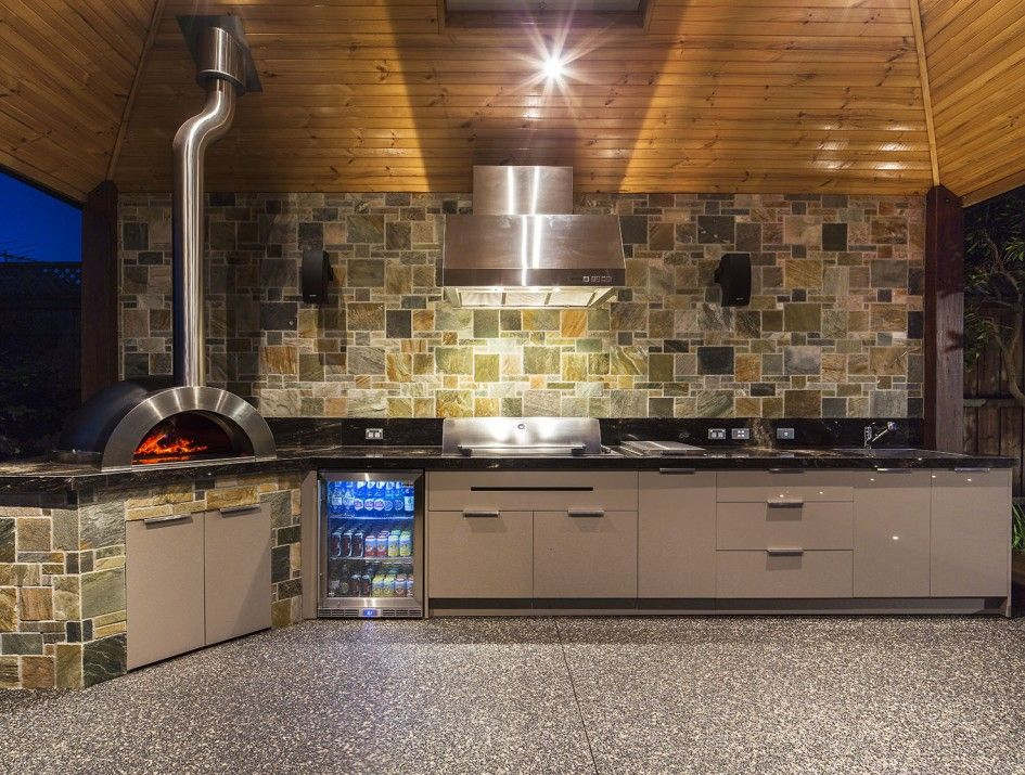 Hypnotic Bbq Outdoor Kitchens Melbourne With Stainless Steel Outdoor Pizza Oven And Conte Outdoor Kitchen Cabinets Outdoor Kitchen Countertops Backyard Kitchen