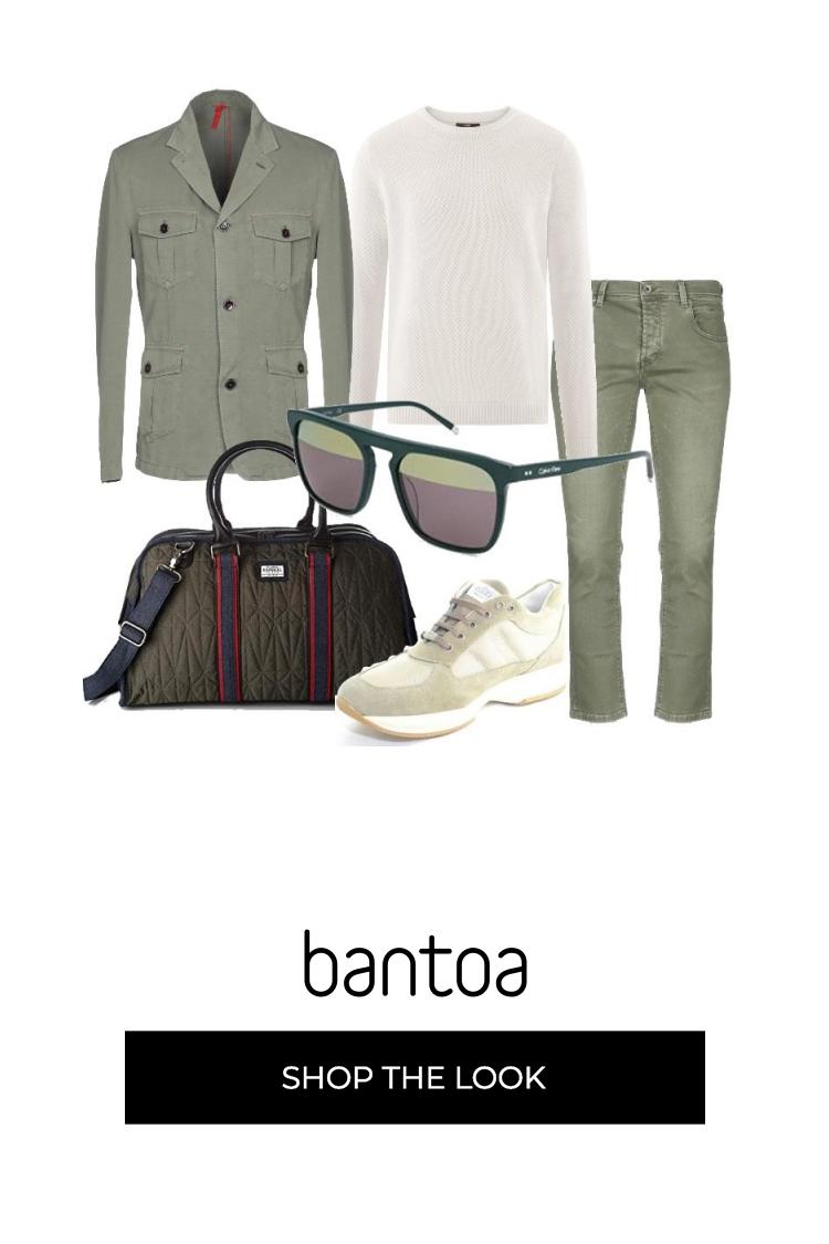 Outfit composto da jeans regular fit, camicia a quadri