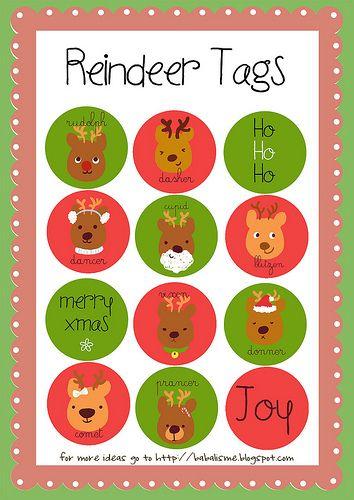 free christmas printables links here - Free Printables For Christmas