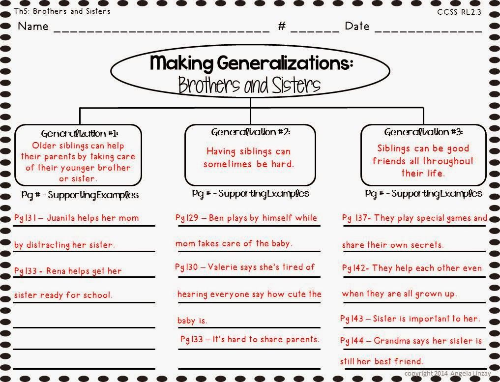 Drawing Conclusions Graphic Organizer Grade 3 Free Ebook - induced.info [ 777 x 1017 Pixel ]
