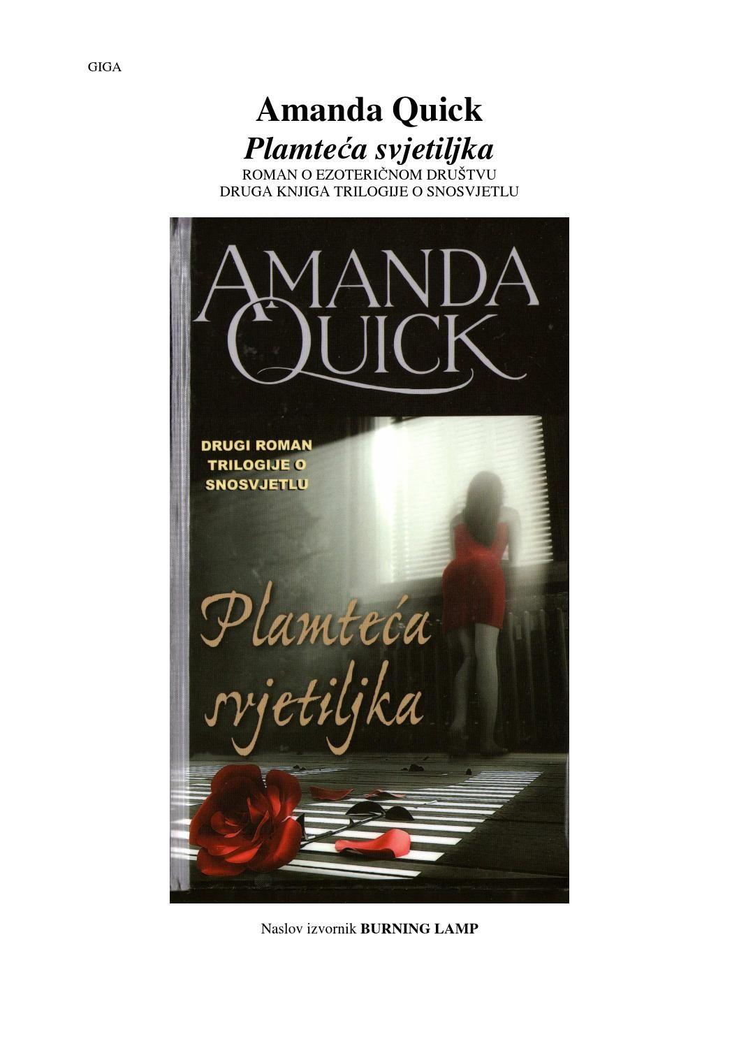 Amanda Quick Plamteca Svjetiljka