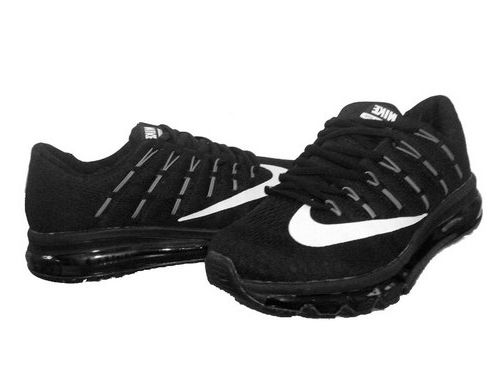 new product ead1b bb245 Mens Nike Air Max 2016 Black White Germany Zapatillas Outlet De Nike, Nike  Air Max