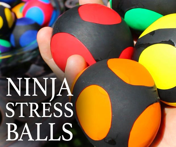 How to Make Ninja Stress Balls | Gift and party ideas