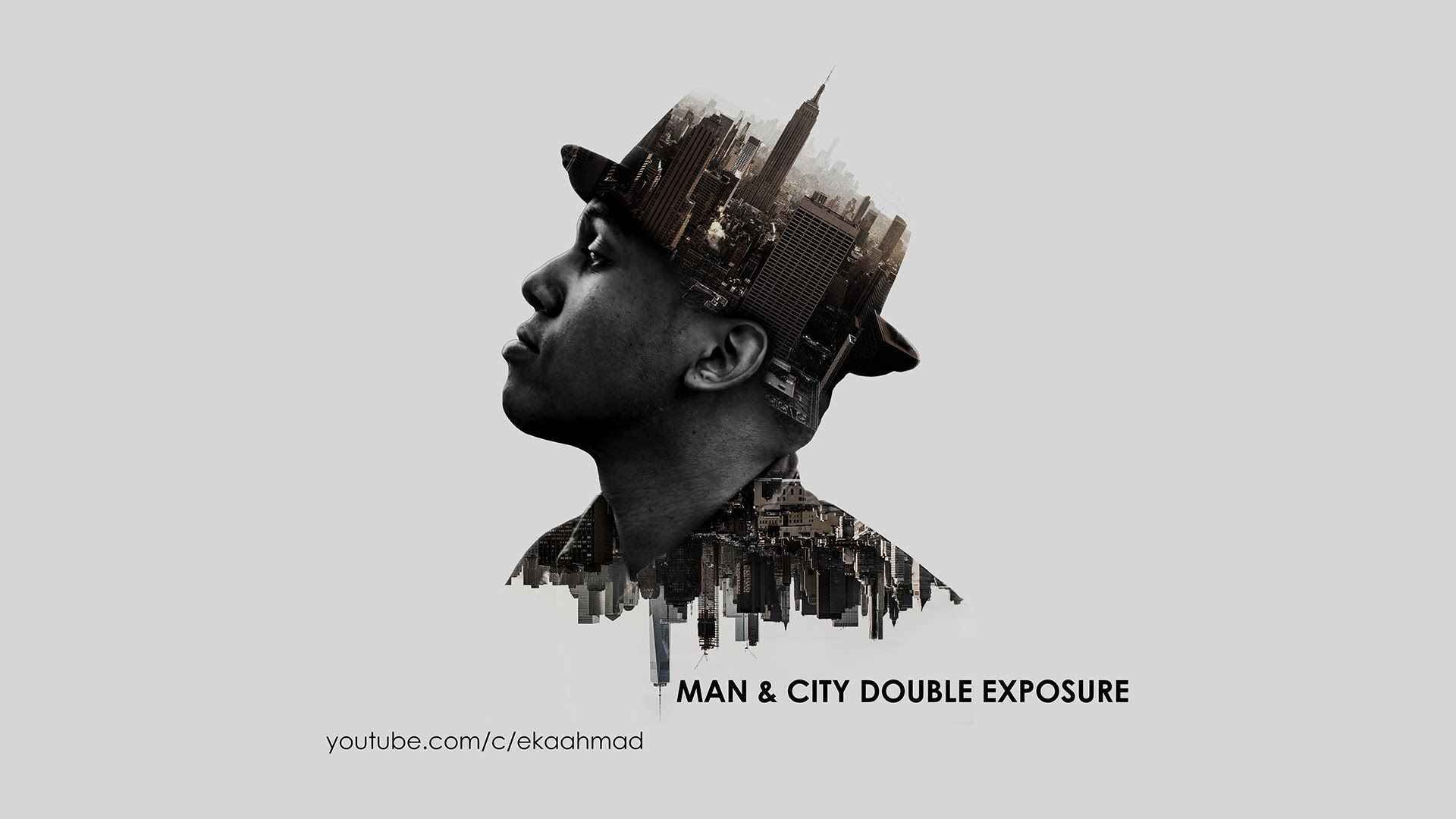This video will be explain the tutorial of making trend double this video will be explain the tutorial of making trend double exposure this tutorial is combining a man image and two city images make precision among baditri Images