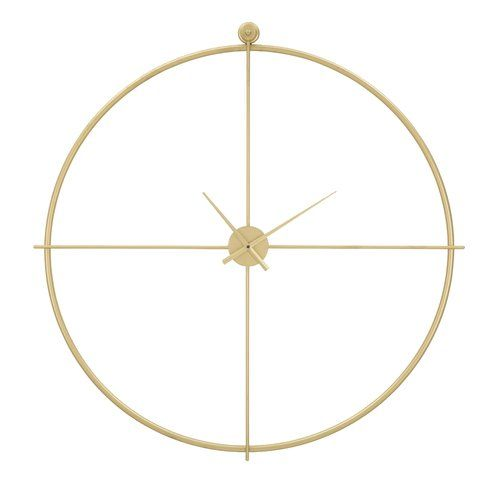Anahi Oversized 100cm Wall Clock Canora Grey Gear Wall Clock Metal Wall Clock Pendulum Wall Clock