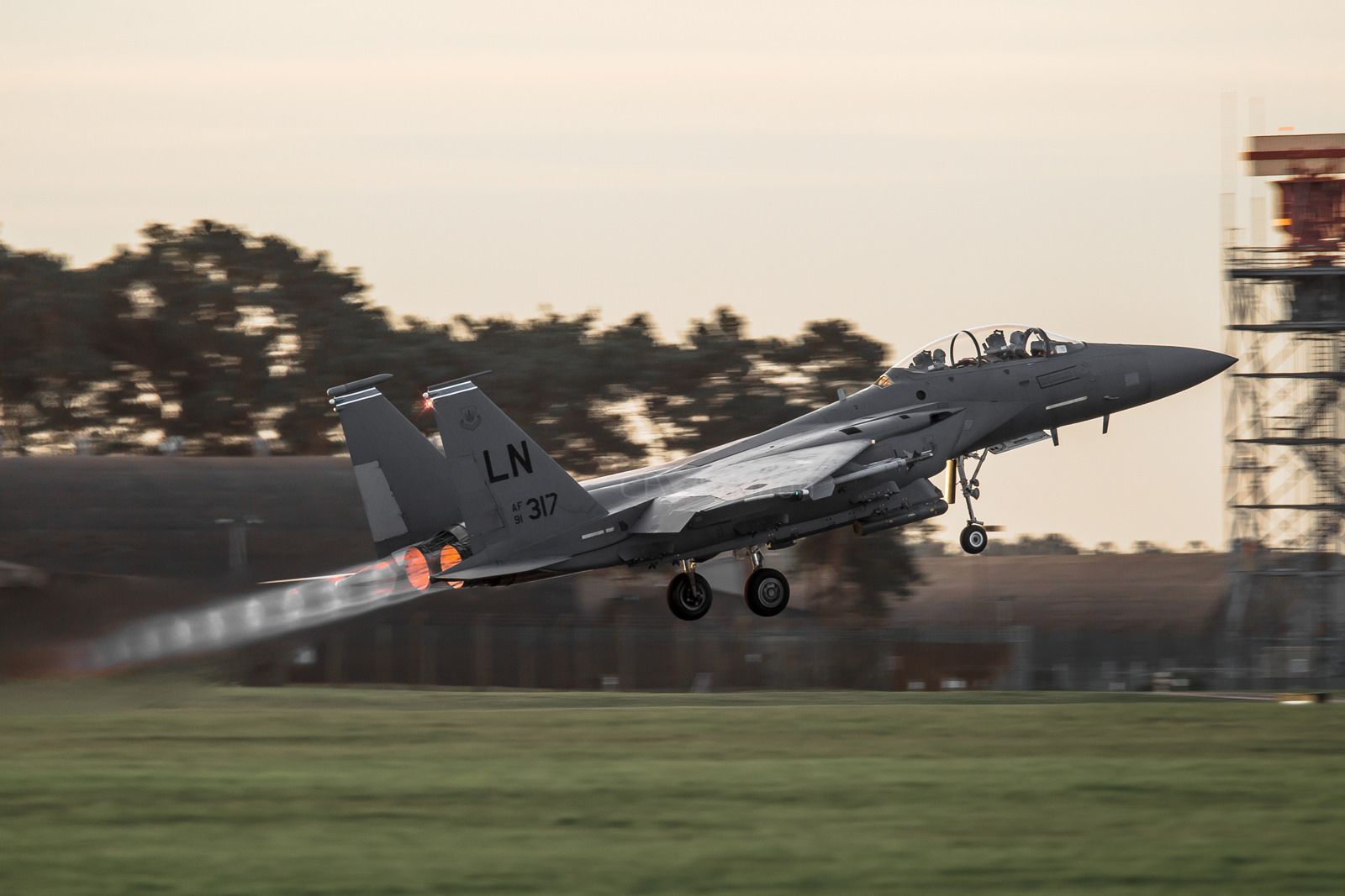F15E Strike Eagle, 910317, 492nd FS (With images