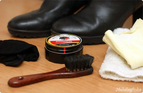 Shoe cleaning kit and tips