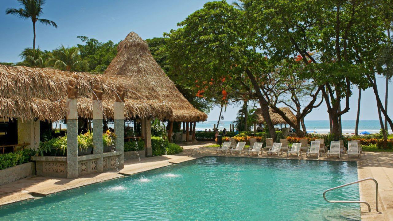 Hotel Tamarindo Diria beach resort in Costa Rica