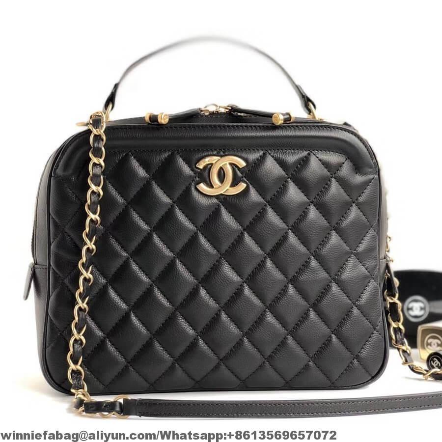 d2054f06aa7f Chanel CC Vanity Case Medium Bag A57906 2018 | Chanel in 2019 ...