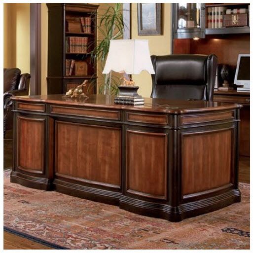 expensive office desk. This Grand Style Home Office Collection Is Sure To Make A Bold Statement In Any Office. Crafted From Select Veneers And Hardwood Solids. Desk Features Seven Expensive E