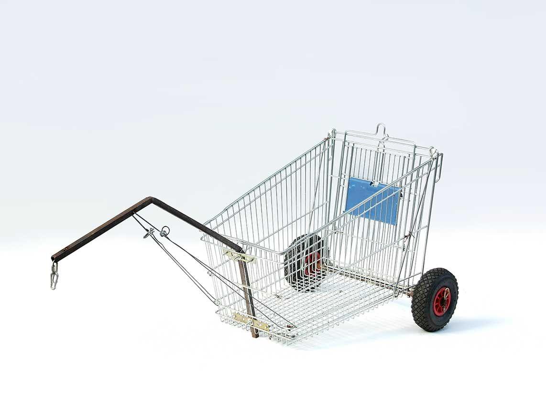 Bike Trailer Made From A Shopping Cart Child Bike Trailer Bike Wagon Cargo Bike