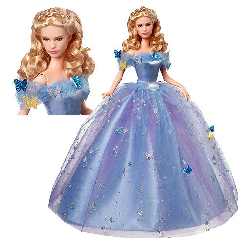 Disney Enchanted Nursery Cinderella Baby Doll In Blue: Pre-Order Now! New Live-action Cinderella Dolls From