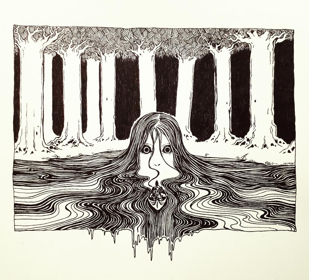 ArtStation - The Lady of Water, A. Shipwright | Art, Creative art, Fantasy  art