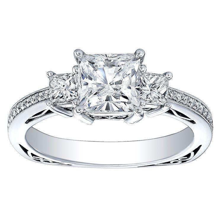 30+ Princess cut wedding rings 2 carat info