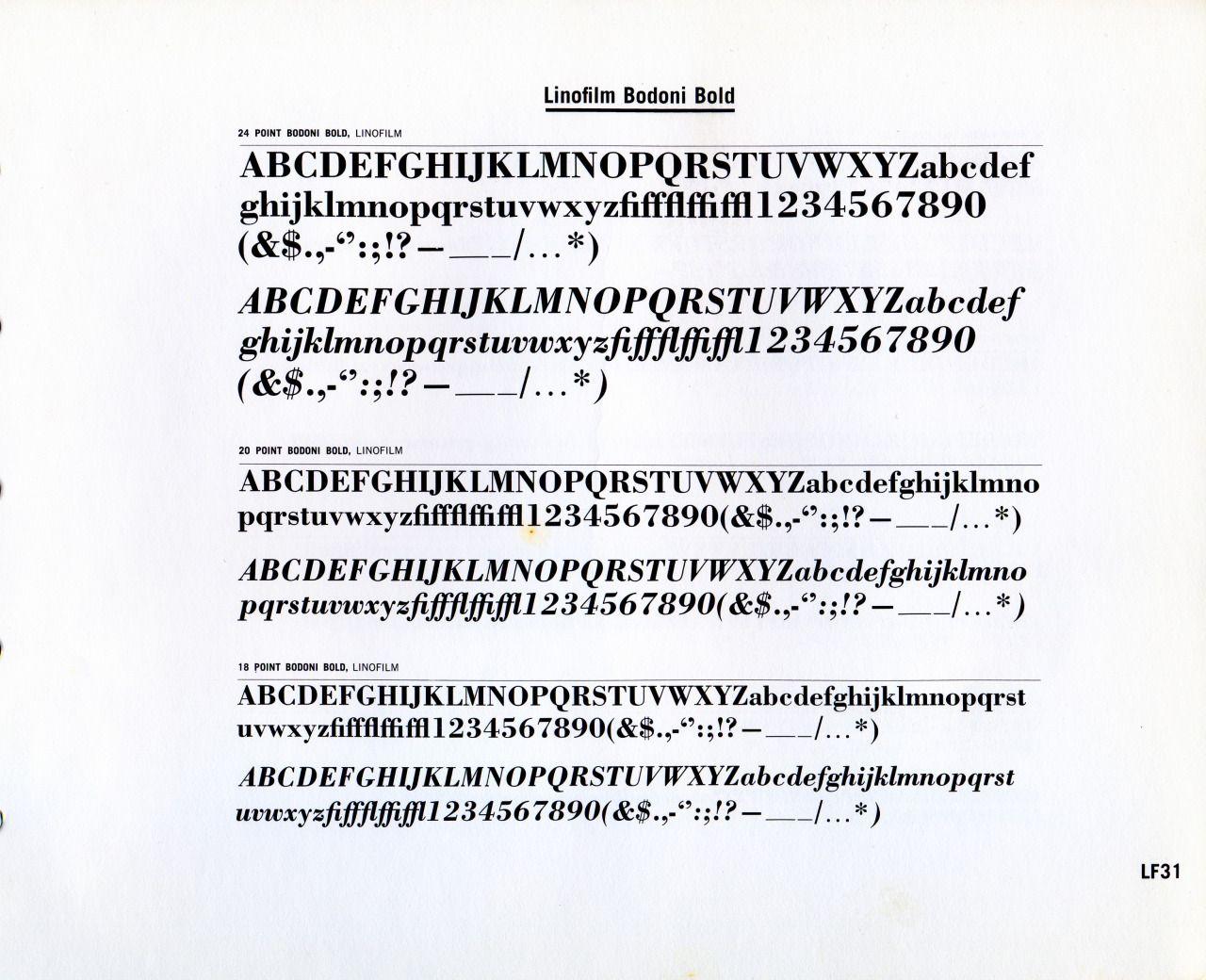 Daily type specimen specimen lettering type