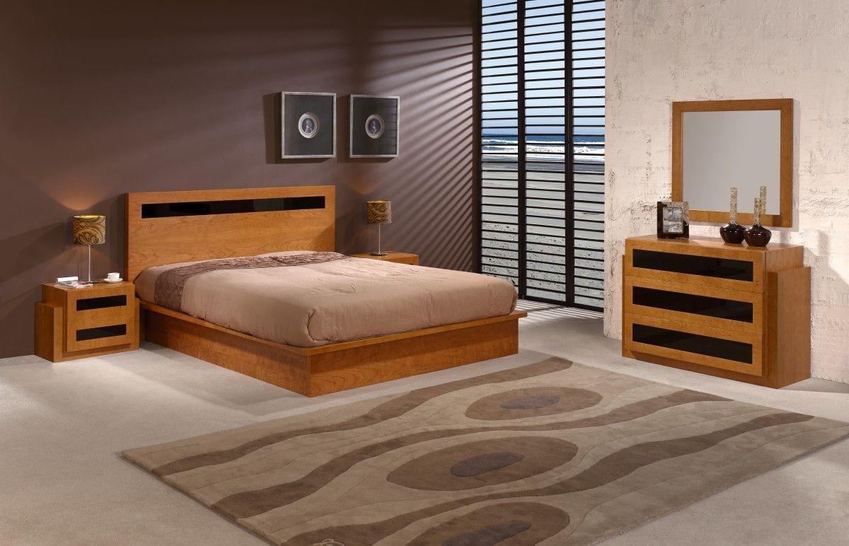 Chambre A Coucher Bois | Idées pour la maison | Peinture chambre ...