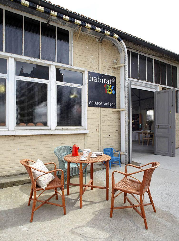 Habitat 1964: Un Espace Vintage | Paris | sweetest spots | Pinterest ...