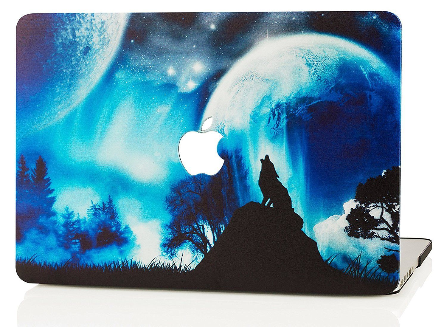 Macbook Case Galaxy Space Collection Wolf in 2019