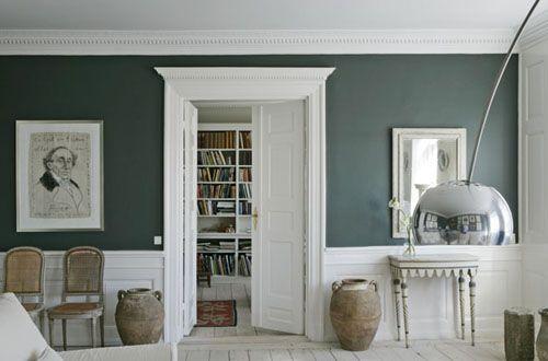 Ideas para decorar las paredes utilizar molduras de - Molduras para paredes ...