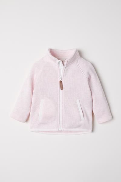 f0dc43897610 Knit Fleece Jacket