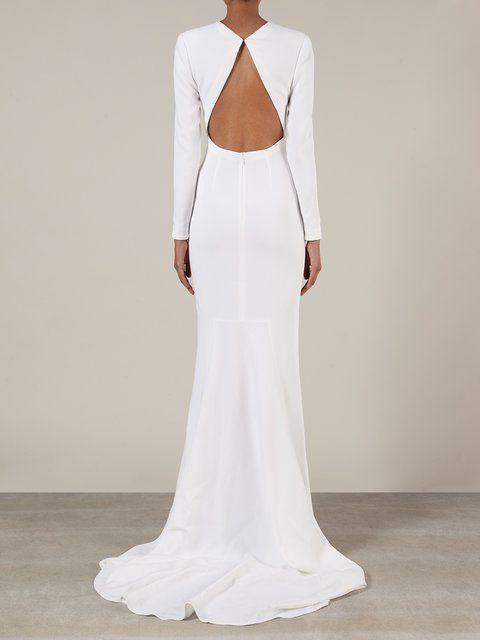 Stella Mccartney Bridal Gown Minimalist Wedding Dresses