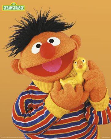 Ernie Sesame Street Muppets Sesame Street Characters The