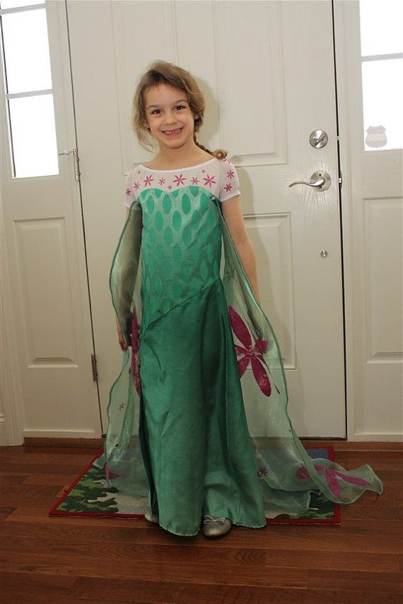 Frozen Fever Elsa Inspired Dress PDF Sewing Pattern by mlwozniak ...