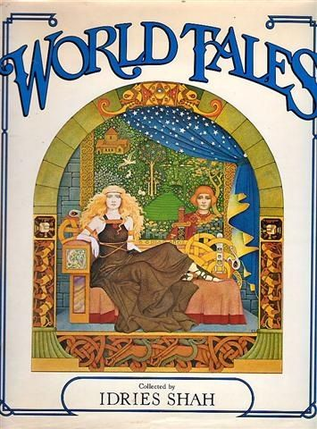 "Sue Porter illustration for ""World Tales""."