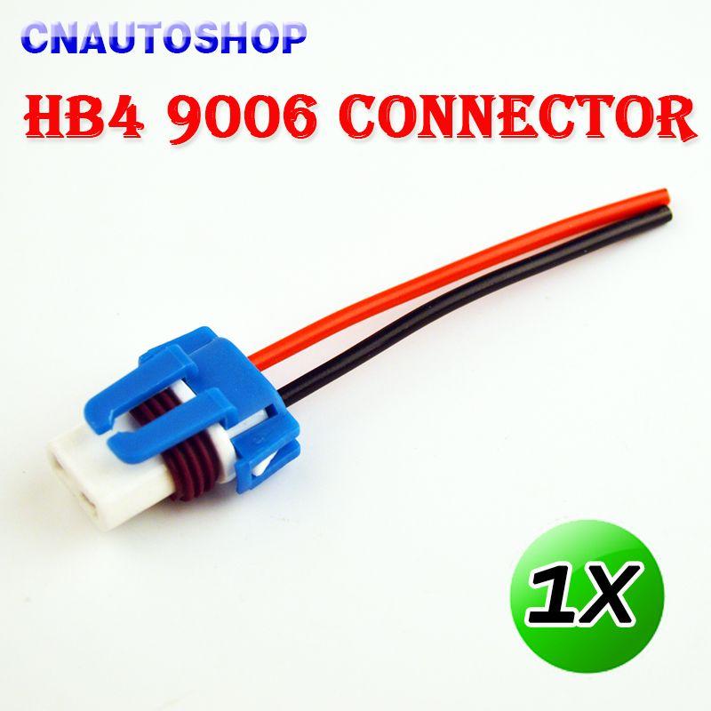 Connectors For HB4 9006 8CM Female Ceramic Auto Bulb Socket Of Car Lamp Affiliate