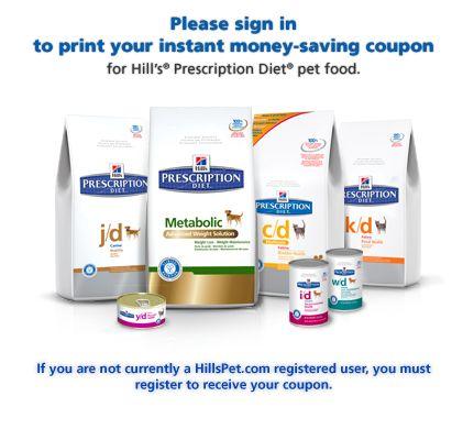science diet prescription cat food coupons