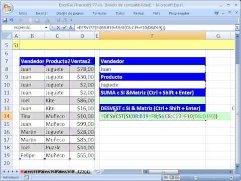 Pin En Excel Video Tutoriales