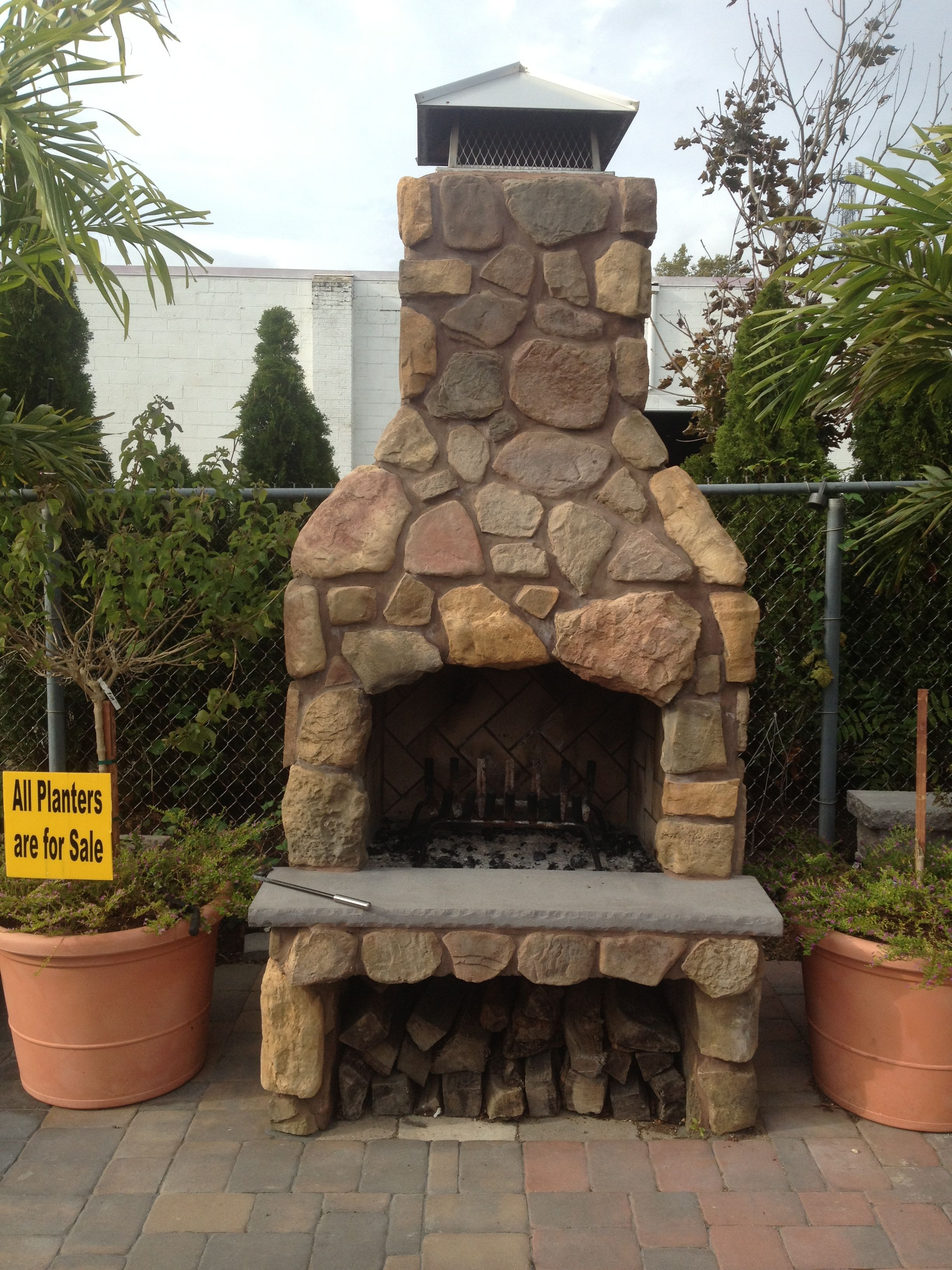Amazing outdoor fireplace! | Outdoor fireplace, Fireplace ... on Amazing Outdoor Fireplaces  id=76664