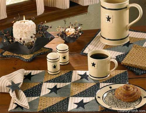 black star kitchen decorating theme - Themes For Kitchens Decor