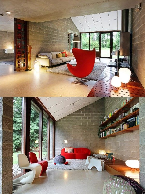 Homedesigning 26 living rooms that put a unique spin on what modern means