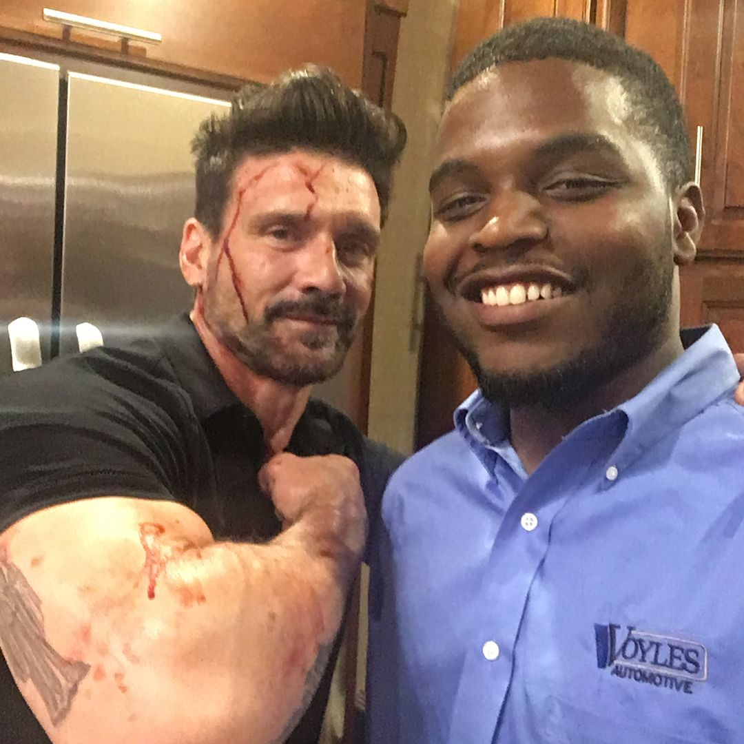 """Sold some hellcats to Frank Grillo and the director of """"Boss Level"""