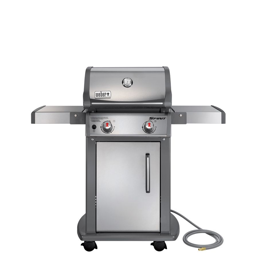Shop Weber Spirit S-210 2-Burner (26,500-BTU) Natural Gas Gas Grill at Lowes.com