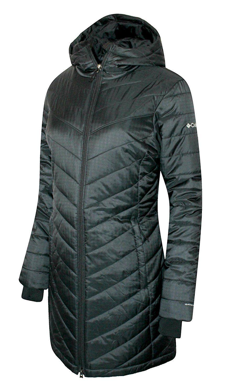 3b2a994ececf1 Columbia Women s Morning Light II Omni Heat Long Jacket Coat Puffer ...