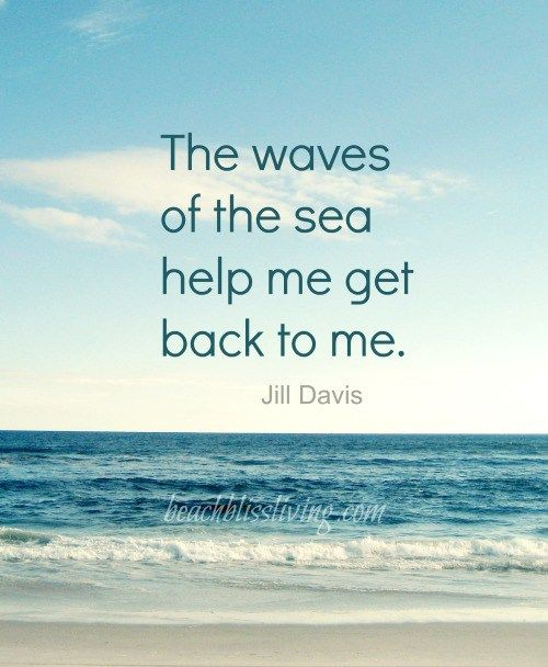 Waves of the Sea Quote