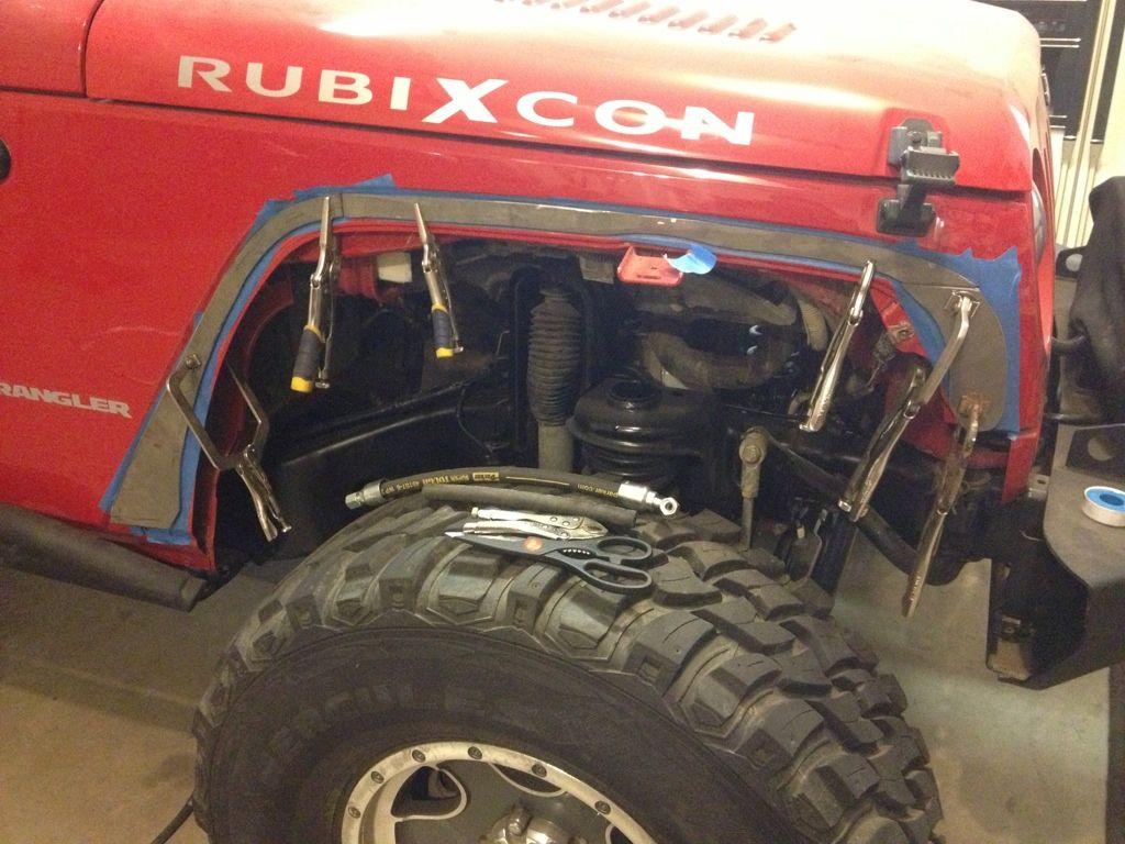 Diy Flat Tube Fenders Cheap Youtube Jeep Fenders Diy