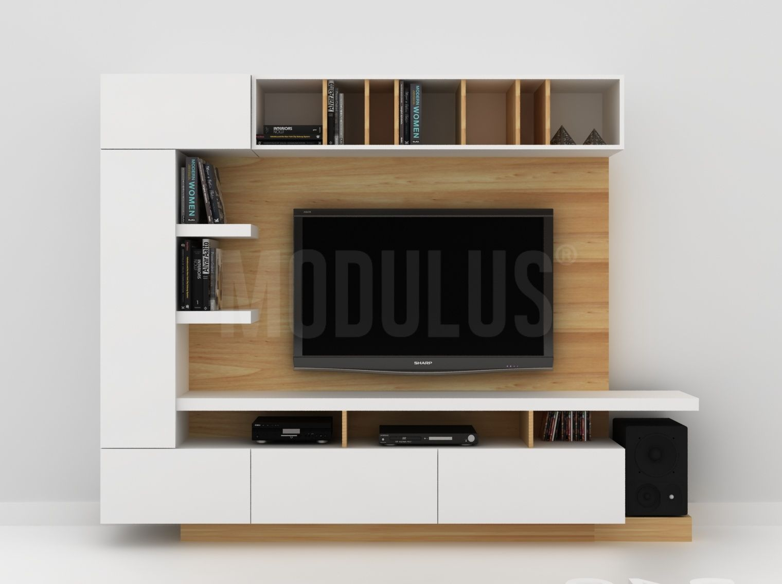 Composicion Sistema Mural 53 Muebles Pinterest Composici N  # Muebles Murales