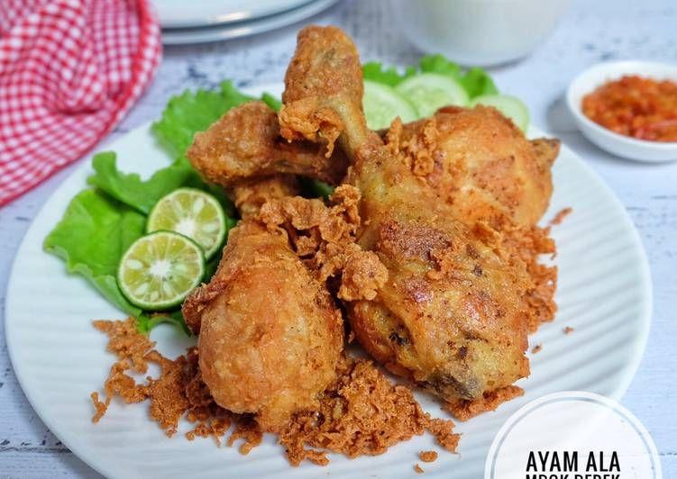 Resep Ayam Goreng Kremes Ala Mbok Berek Oleh Susi Agung Resep Resep Ayam Ayam Goreng Resep